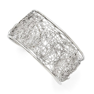 Stainless Steel Wire Cuff Bangle