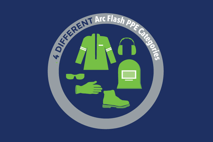 What Are the 4 Different Arc Flash PPE Categories in NFPA 70E?