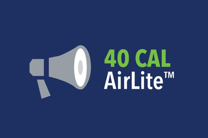 Why the 40 CAL AirLite™ is an excellent option for all 4 Categories (PPE CAT 1-4)
