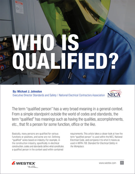 Who is qualified