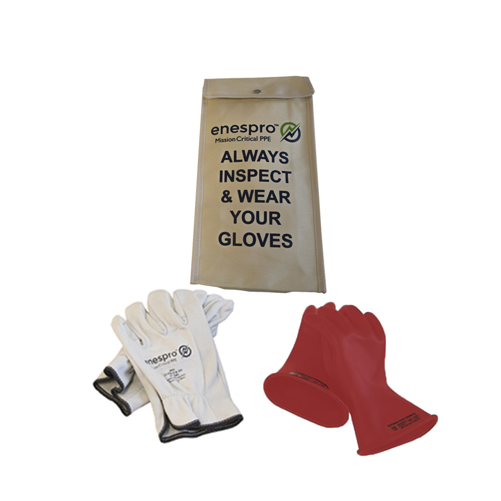 Class 0 Red Glove KIT
