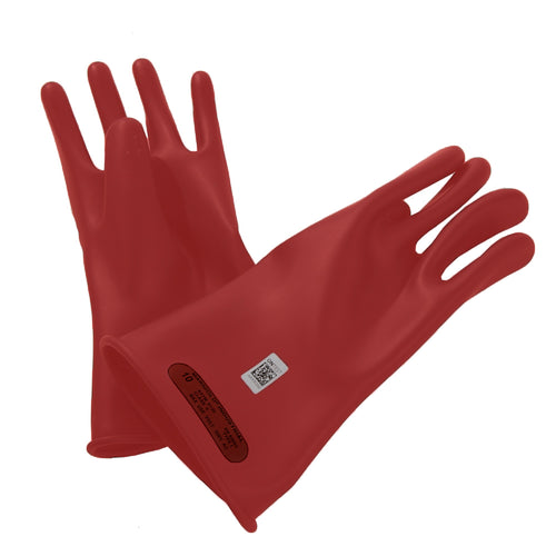 Class 0 Red Gloves