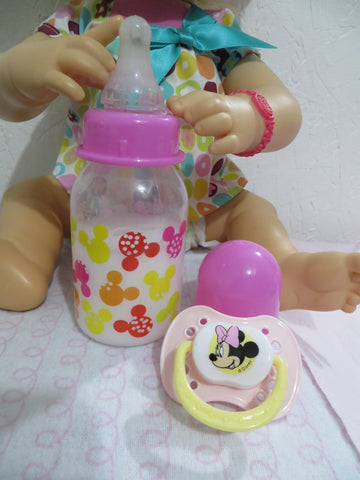 Baby Doll Bottle Custom Made for the 2010 Interactive My Baby Alive Doll With Hair