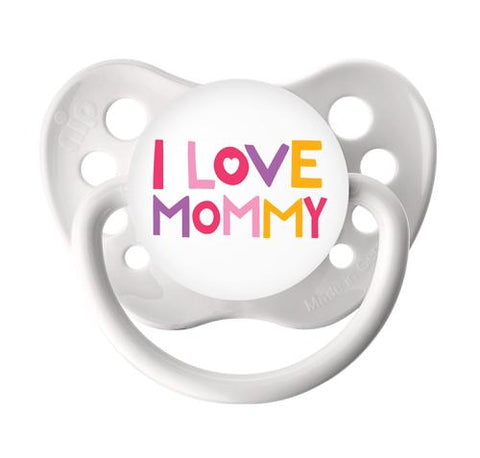 Reborn Doll Magnetic Pacifier or Reborn Doll Putty Pacifier Kit Boy or Girl - I Love Mommy