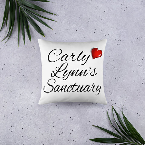 Basic Pillow Carly Lynn's Sanctuary - Choose Your Own Names