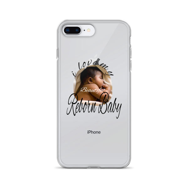 African American Reborn Doll Design iPhone Case