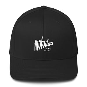 Motocross Moto Dad # (Choose Your Number) Structured Twill Cap