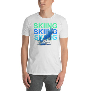 Water Skiing Summer Vacation Beach Ocean River Short-Sleeve Unisex T-Shirt