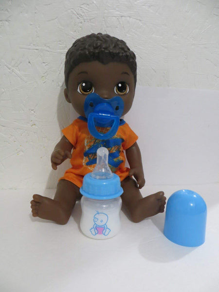 Baby Doll Bottle & Pacifier Set Compatible With Older Baby Alive Snackin Luke Doll