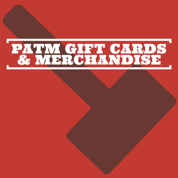 PATM Gift Cards & Merchandise