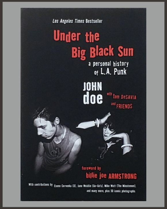 Under The Big Black Sun-John Doe & Tom DeSavia