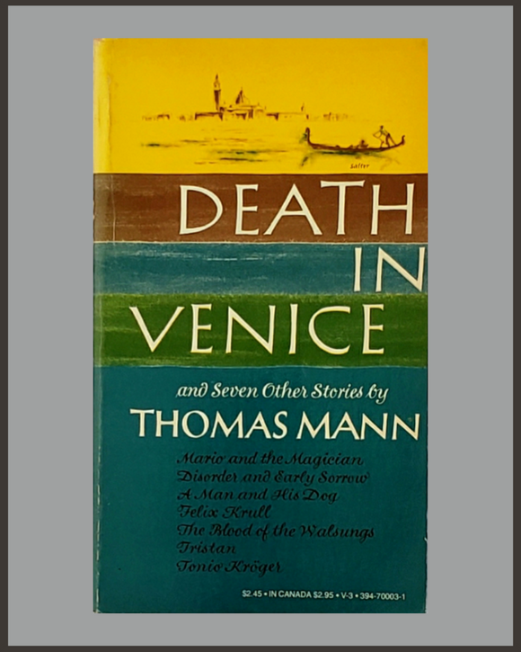 Death In Venice & Seven Other Stories-Thomas Mann