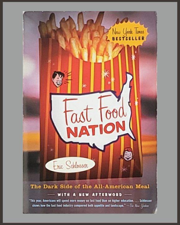 Fast Food Nation-Eric Schlosser