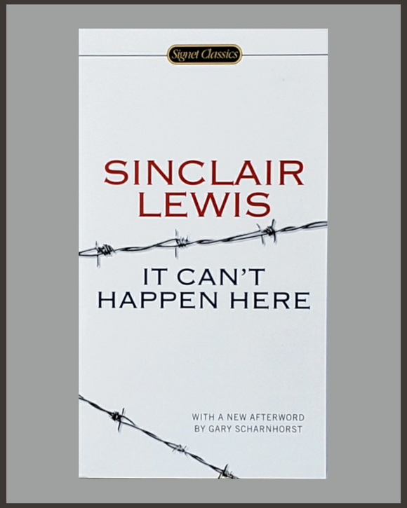 It Can't Happen Here-Sinclair Lewis-Signet Classic