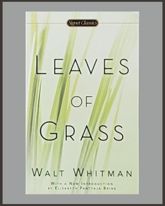Leaves Of Grass-Walt Whitman-Signet Classic