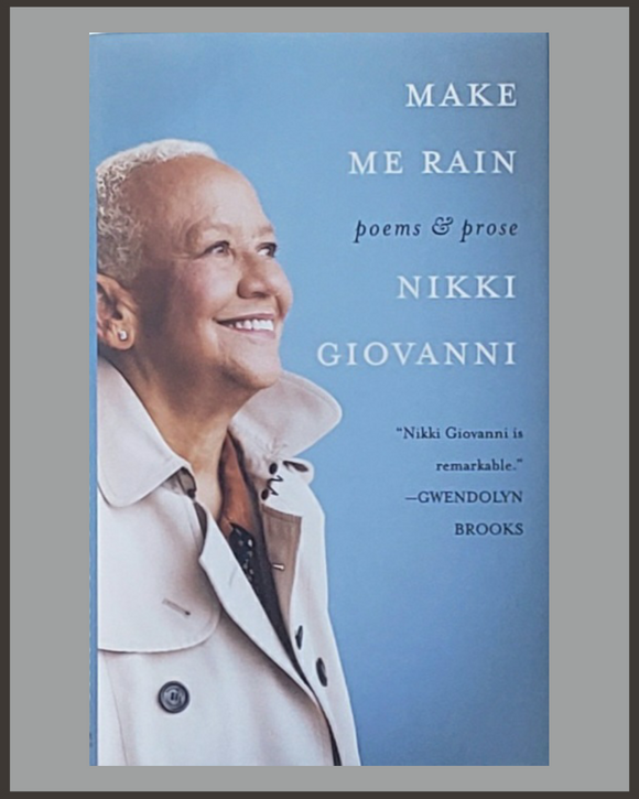 Make Me Rain-Nikki Giovanni
