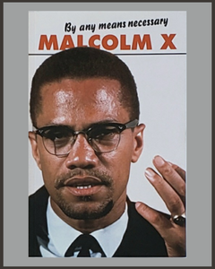 By Any Means Necessary-Malcolm X