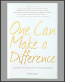 One Can Make A Difference-Ingrid E. Newkirk-SIGNED