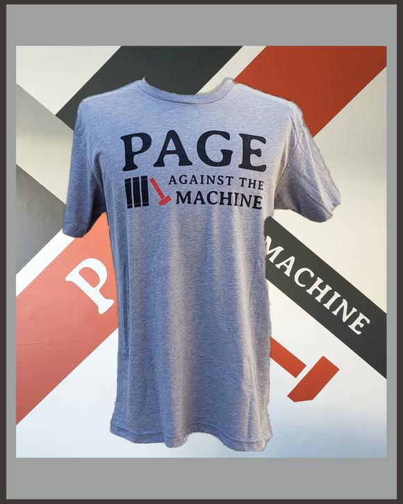PATM Logo T-Shirt-Grey Mens