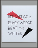 Red Wedge & Black Wedge Beat The Whites-Josh MacPhee