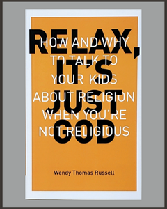 Relax It's Just God-Wendy Thomas Russell-SIGNED