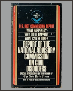 Report Of The National Advisory Commission On Civil Disorders