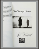 Too Young To Know-Kevin Ridgeway-SIGNED