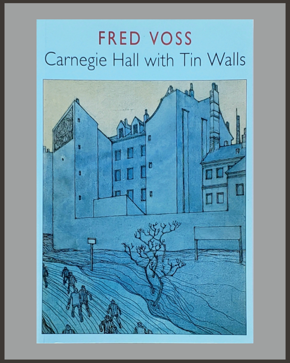 Carnegie Hall With Tin Walls-Fred Voss-SIGNED