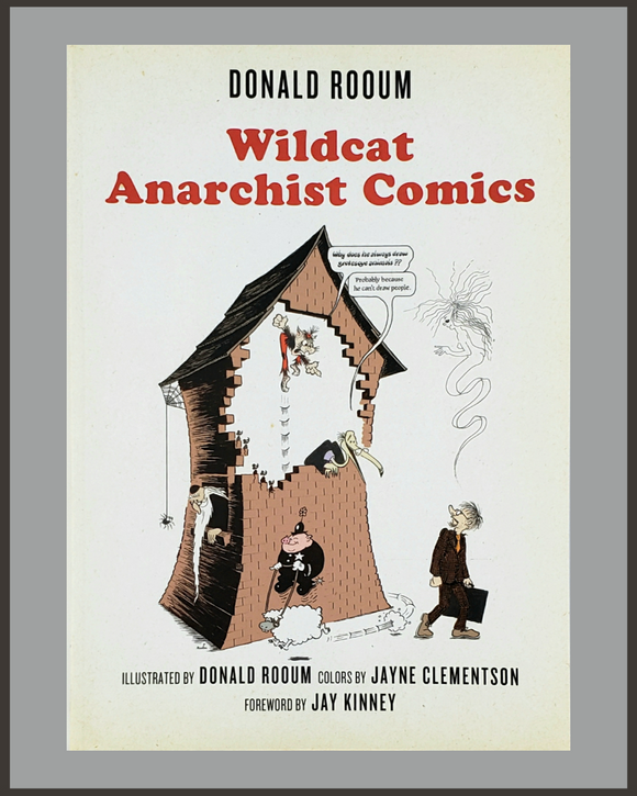 Wildcat Anarchist Comics-Donald Rooum