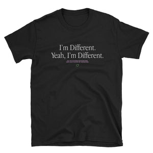 Onedegree I'm Different T-Shirt