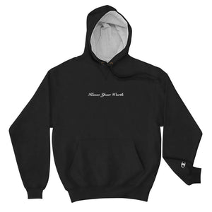 Know Your Worth Champion Hoodie