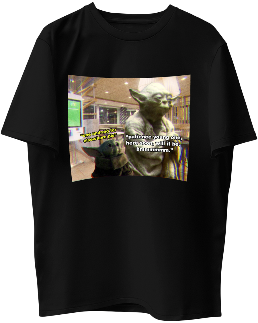 Elsewhere for Android x Baby Yoda - Short-Sleeve Unisex T-Shirt
