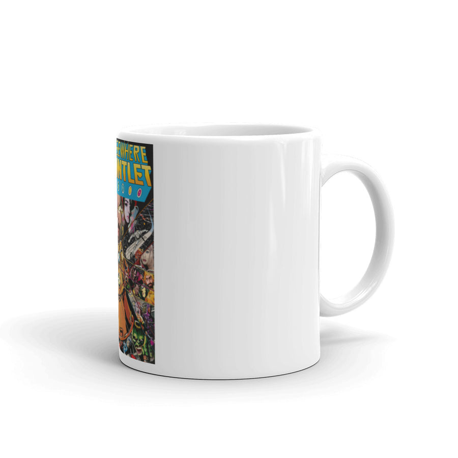 Seen Elsewhere Gauntlet Coffee Mug