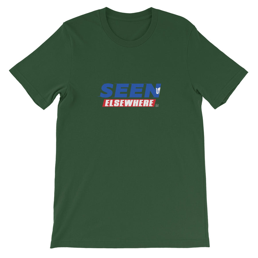 Seen Elsewhere Sanic Short-Sleeve Unisex T-Shirt
