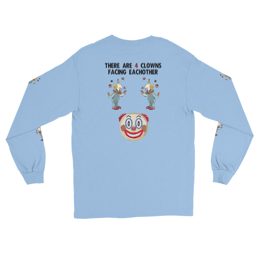 4 Clowns Long Sleeve T-Shirt