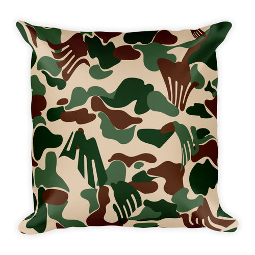 Elsie Camo Pillow