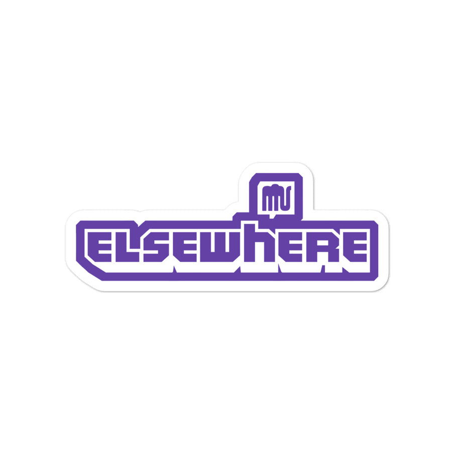 Elsewhere Twitch Bubble-free stickers