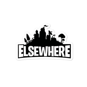 Elsewhere Nite Bubble-free stickers