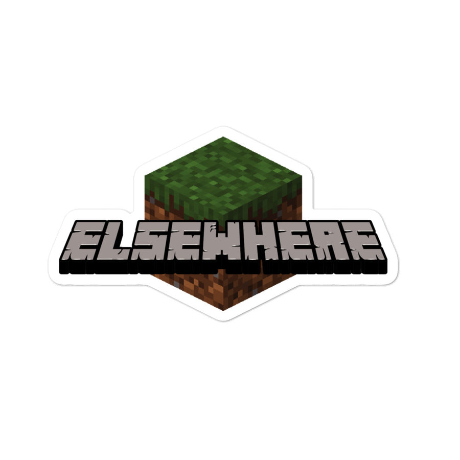 Elsewhere Craft Bubble-free stickers