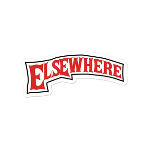 Elsewhere woods Bubble-free stickers