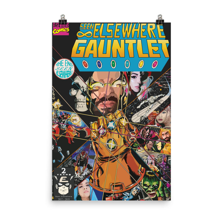 The Elsewhere Gauntlet Poster