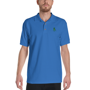 Embroidered Froggy Chair Polo Shirt