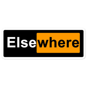 Elsewhere Hub Bubble-free stickers
