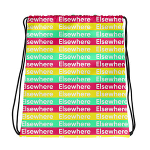Elsewhere Drawstring bag
