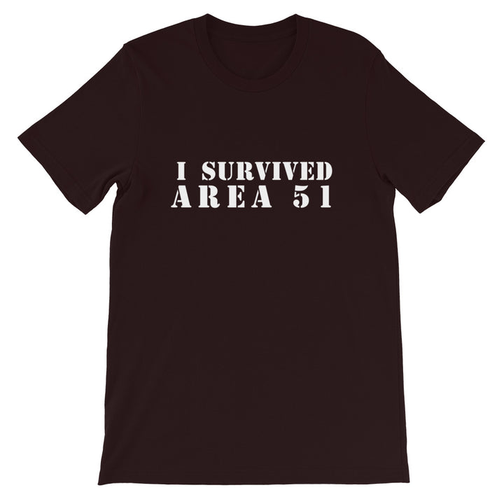 I Survived Area 51 Short-Sleeve Unisex T-Shirt