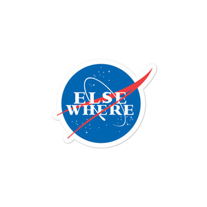 Elsewhere NASA Bubble-free stickers