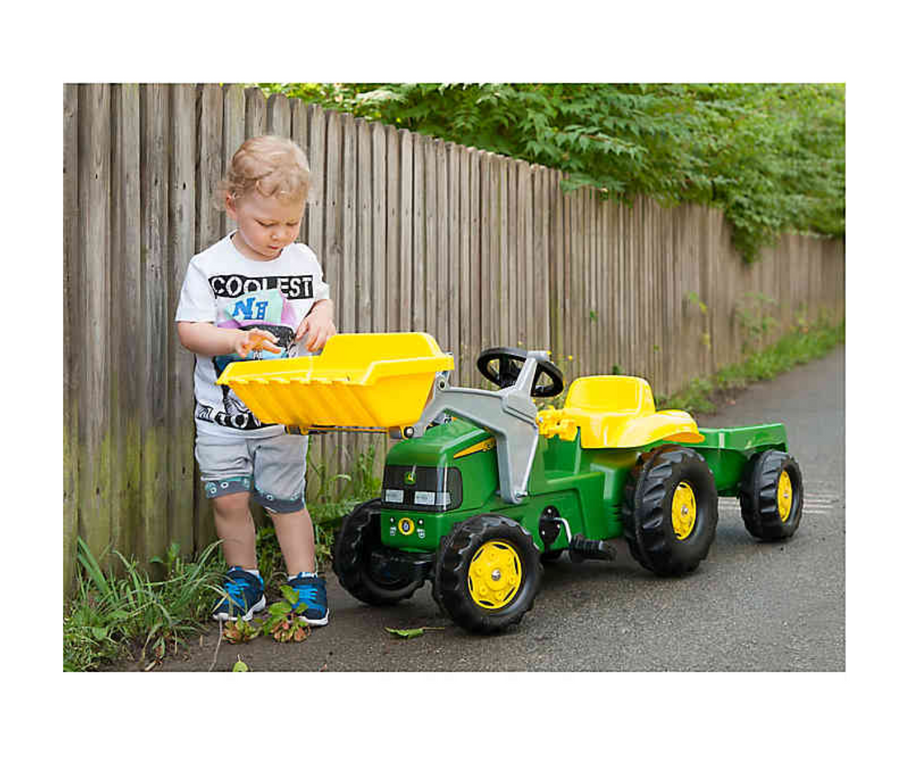 John Deere Ride-On w/ Trailer (Kettler)