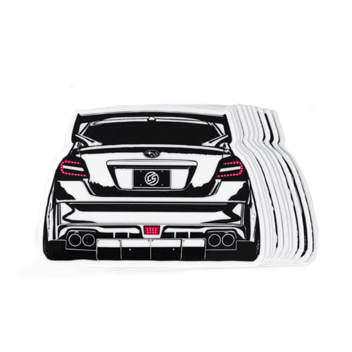 CS Plate STi Sticker