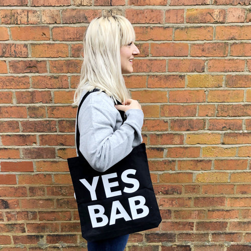 YES BAB tote bag
