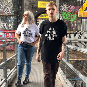 ALL PUNK adult tee